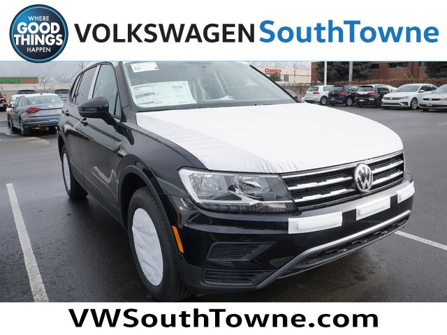 New 2019 Volkswagen Tiguan S With 4motion Sport Utility In South